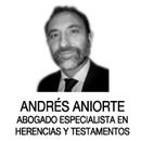 adjudicación de herencia Orihuela -  Andrés Aniorte