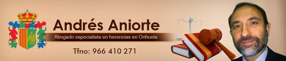 Abogado de Herencias Orihuela
